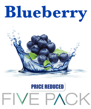 5 Pack Blueberry