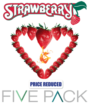 5 Pack Strawberry