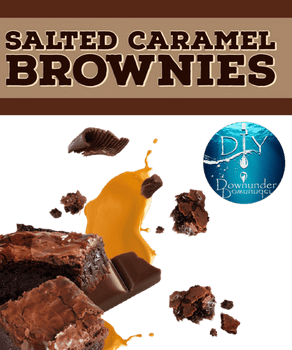 Salted Caramel Brownies - August 2019 Winner