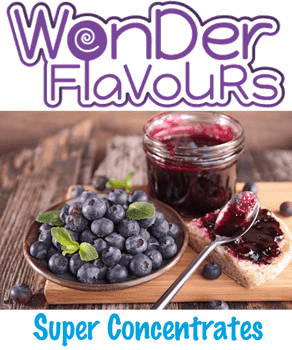 Wonder Flavours Blueberry Jam