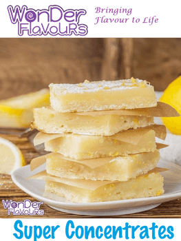 Wonder Flavours Lemon Squares