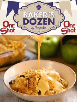 Bakers Dozen - Apple Crumble and Custard