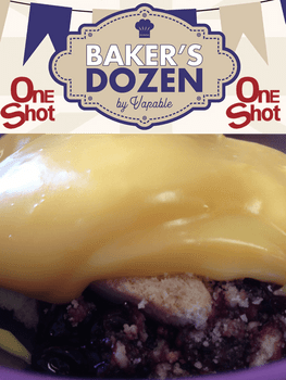 Bakers Dozen - Blueberry Crumble and Custard
