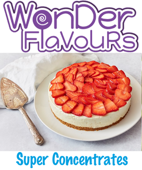 Wonder Flavours Strawberry Cheesecake