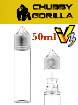 Chubby Gorilla V3 50ml Unicorn Bottles