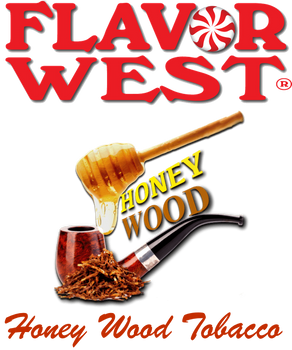 Flavor West Honey Wood Tobacco