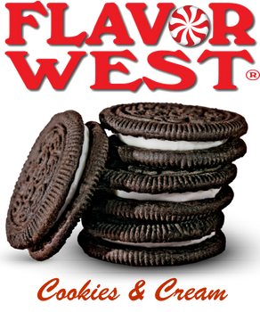 Flavor West Cookies and Cream