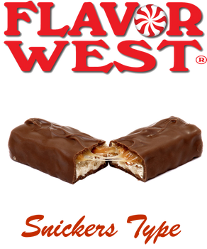 Flavor West Snickers Type Candy Bar