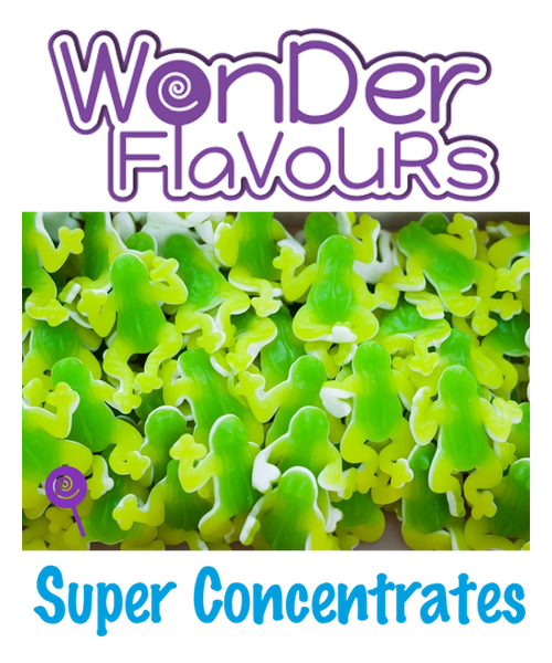 Wonder Flavours Frog Gummy Candy Peach