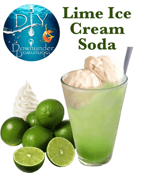 Lime Ice Cream Soda - March 2019 Winner
