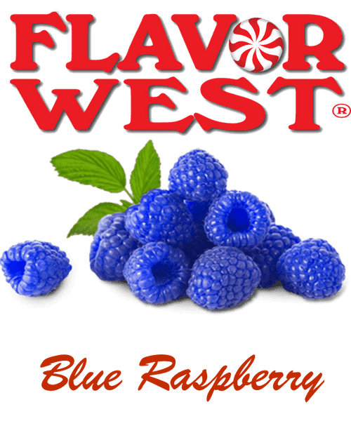 Flavor West Blue Raspberry