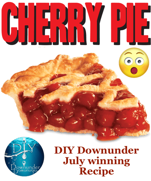 Baked Cherry Pie - July 2019 Winner
