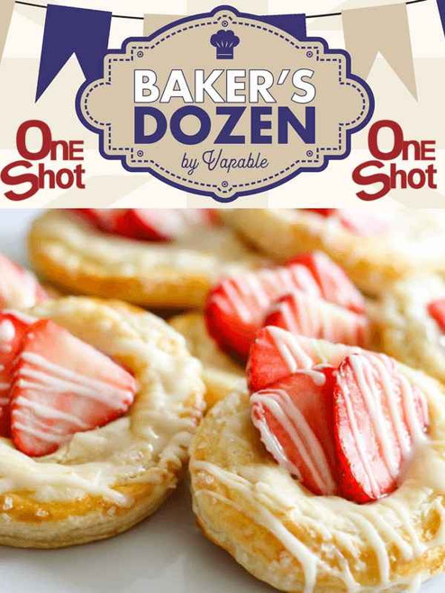 Bakers Dozen - Strawberry Danish