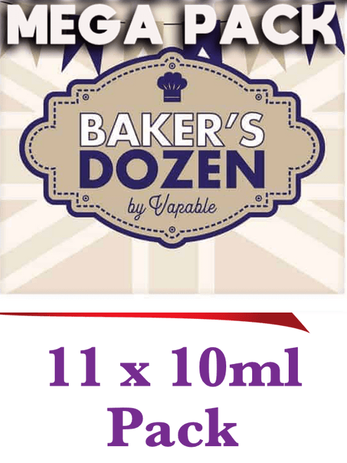 Bakers Dozen - Discounted 11 x 10ml