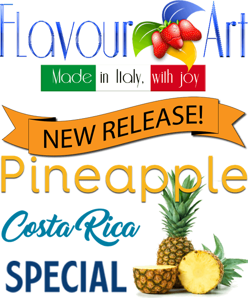 FLAVOURART Pineapple Costa Rica Special