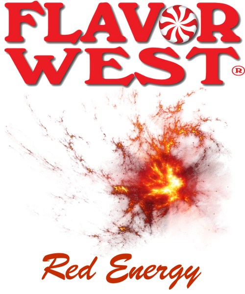 Flavor West RED Energy Red Bowl