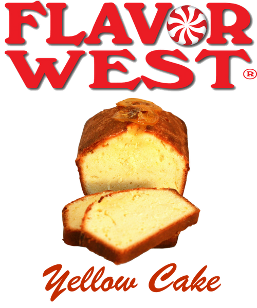 Flavor West Yellow Cake