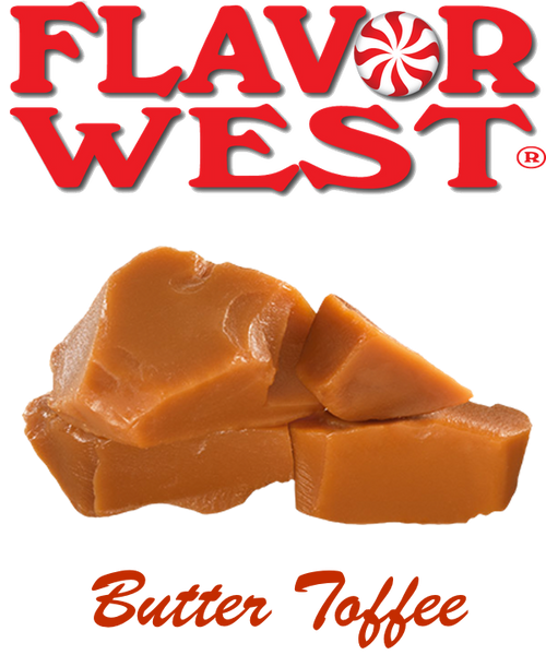 Flavor West Butter Toffee