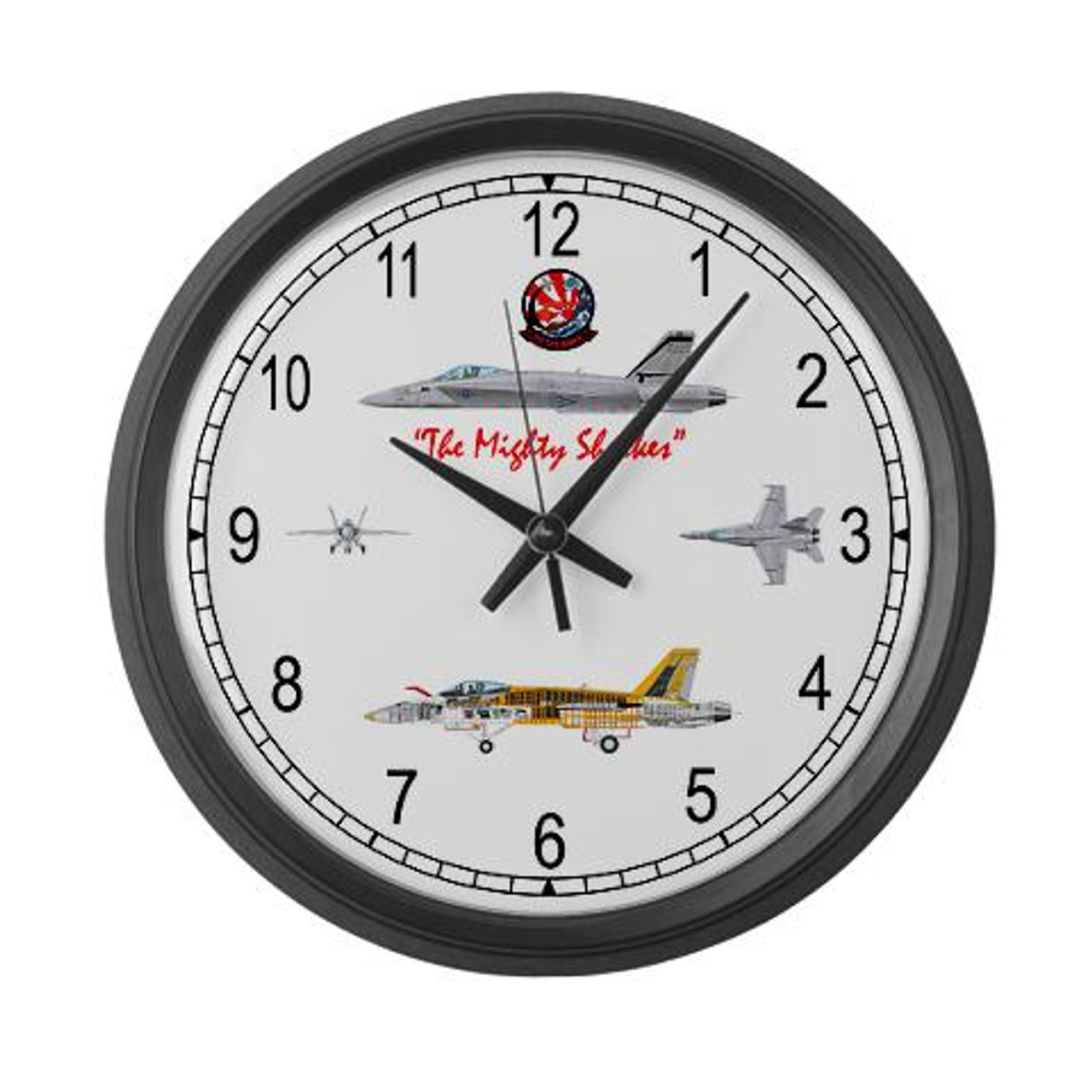 F/A-18 Hornet VFA-94 Large Wall Clock