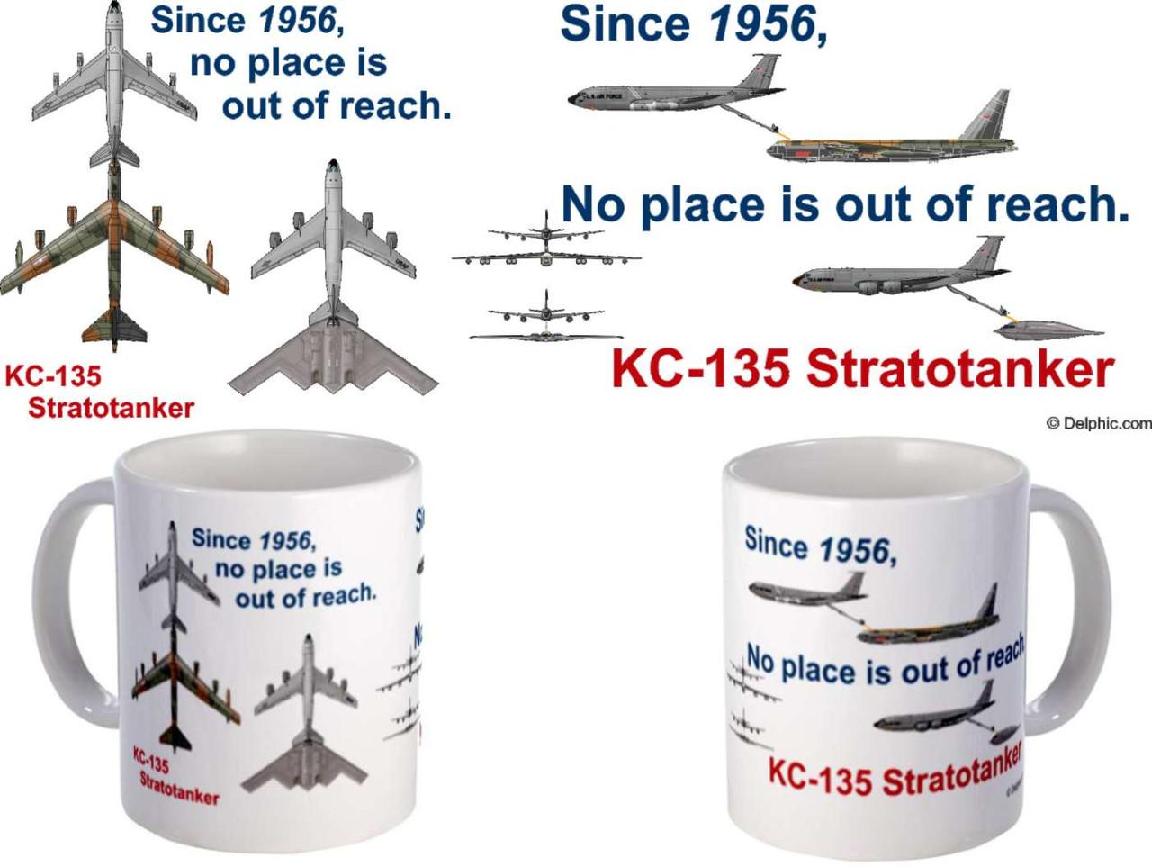 KC-135, B-52, B-2 Re-fueling Coffee Mug