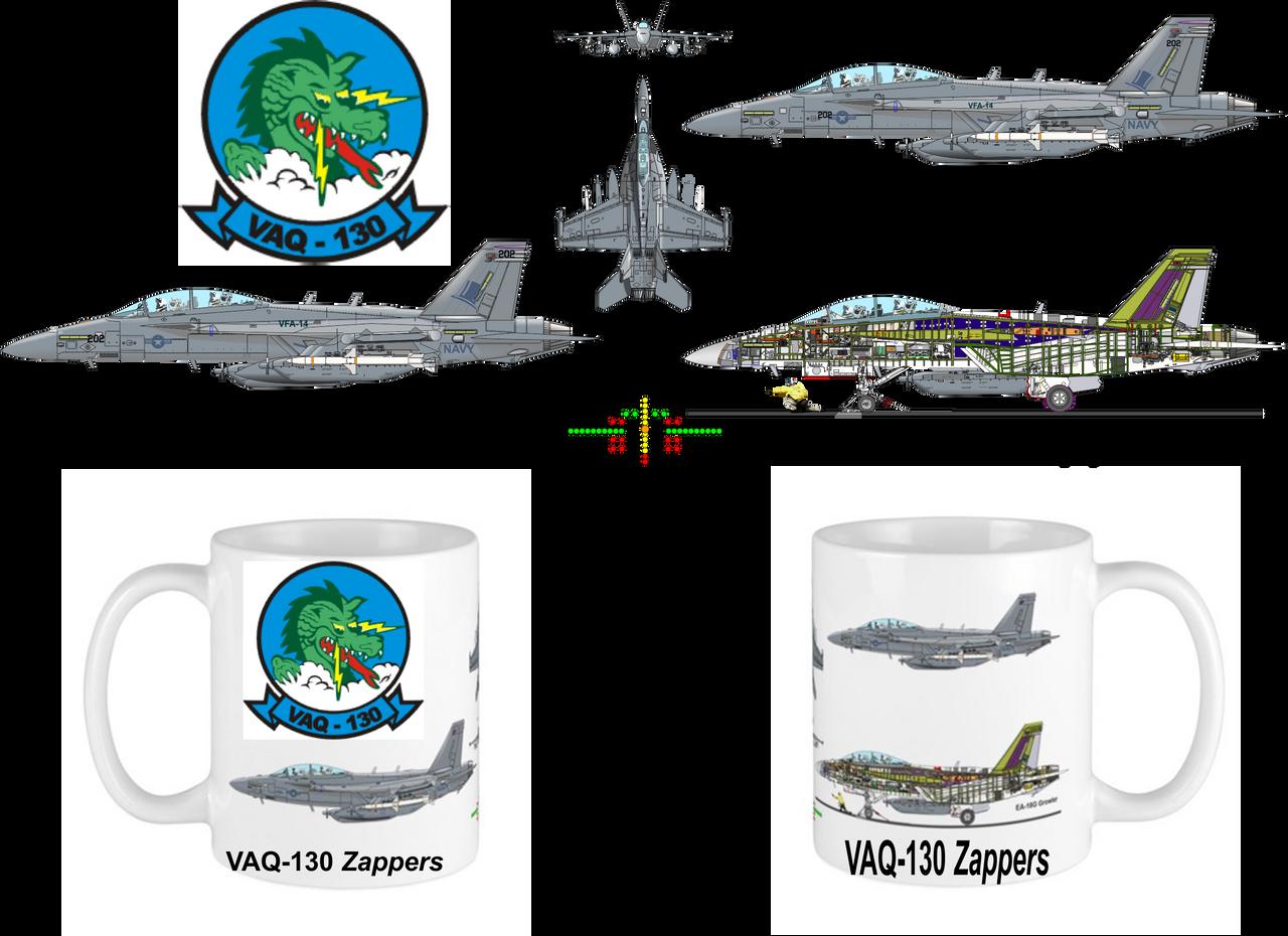VAQ-130 Zappers EA-18G Mug