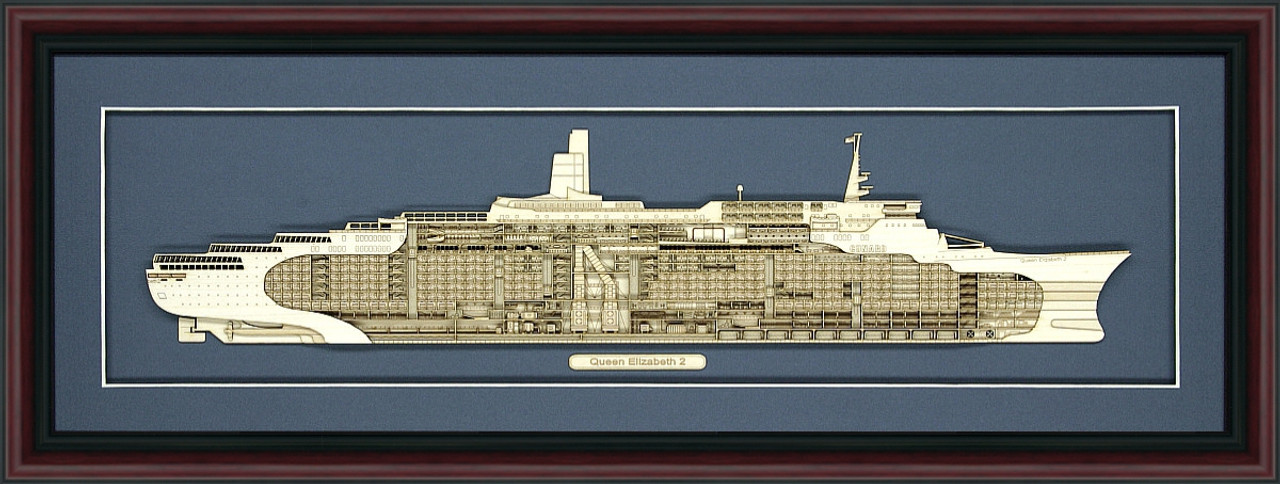 RMS Queen Elizabeth 2 Model