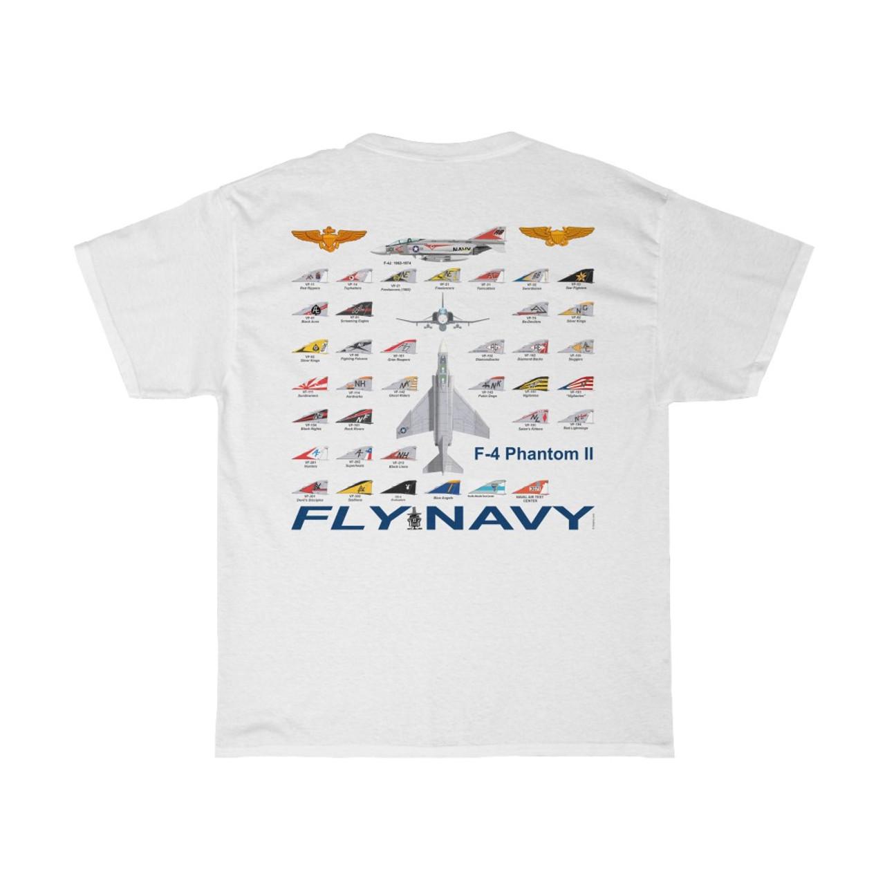 F-4 Phantom Navy Squadron T-shirt