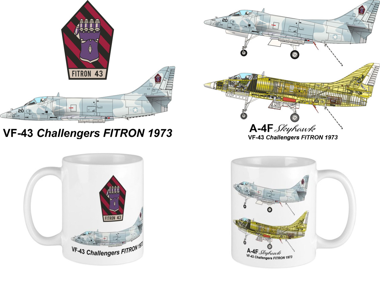 VF-43 Challengers A-4F Skyhawk