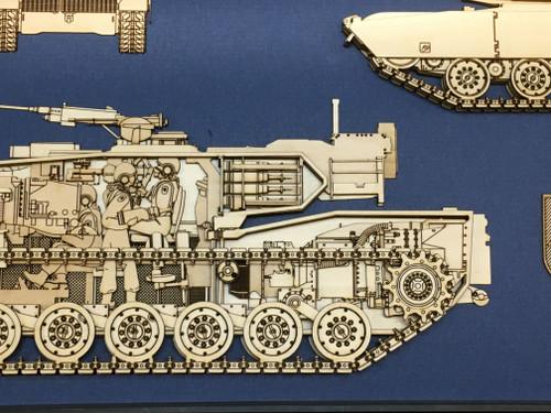 M1A1 Abrams MBT Hull