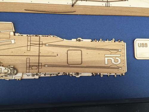 USS Bon Homme Richard CVA-31 Wood Model
