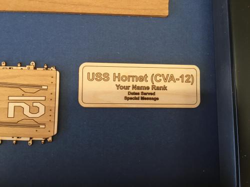 USS Yorktown (CVA-10) nameplate