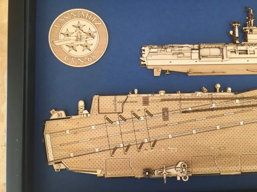 USS Nimitz (CVN-68) aft