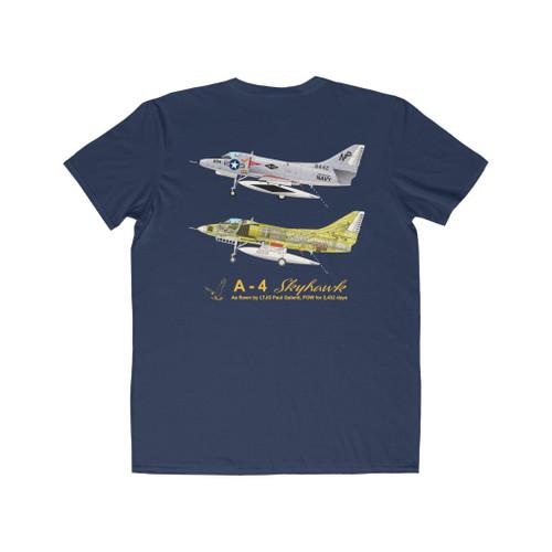Vietnam Era A-4 Skyhawk Landing Color T-Shirt