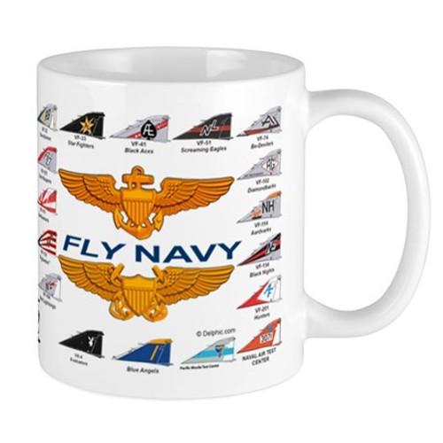 F-4 Phantom Navy Squadron Mug