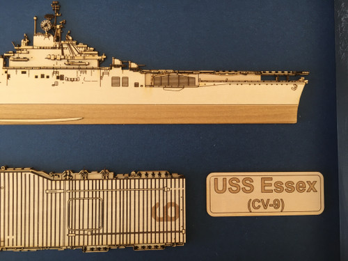 USS Essex CV-9 Forward