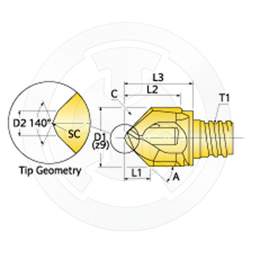 PTD18643 #43 Size Jobber Length HSS Drill Bright Finish Precision Twist Drill 018643 Series R15P PART NO