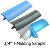 "1 Sample Snip Of 3/4"" T-Molding"