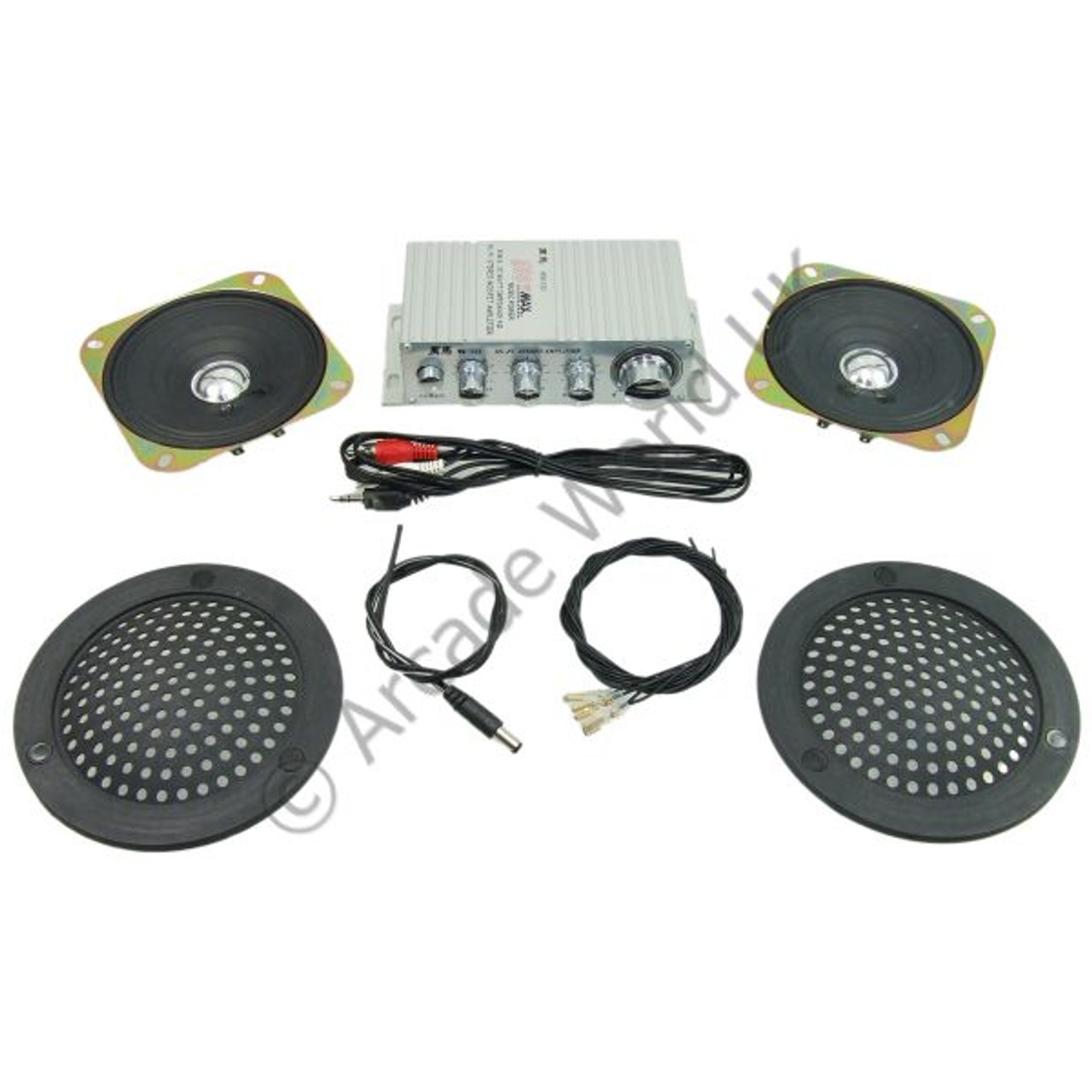 mosfet stereo sound amplifier kit for arcade machine projects - arcade  world uk