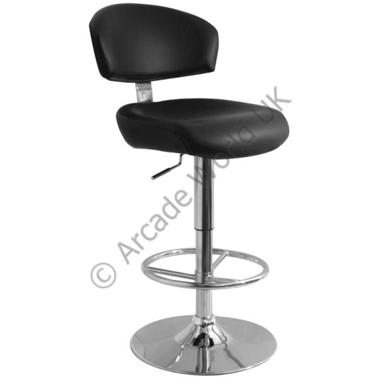 Brilliant Calipso Chrome Bar Stool Creativecarmelina Interior Chair Design Creativecarmelinacom