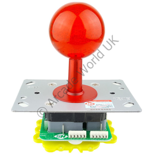 Arcade Joystick With Translucent Dust/Shaft Cover & Large Handle