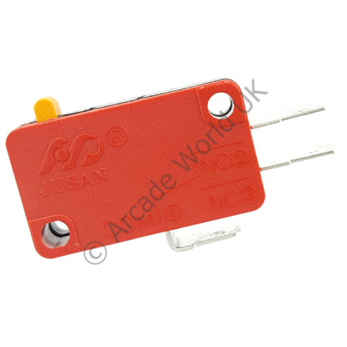 Jusan Button Microswitch With 4.8mm Terminals