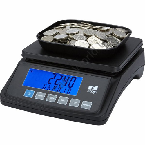 ZZap MS10 Coin Scale - 3 Year Warranty