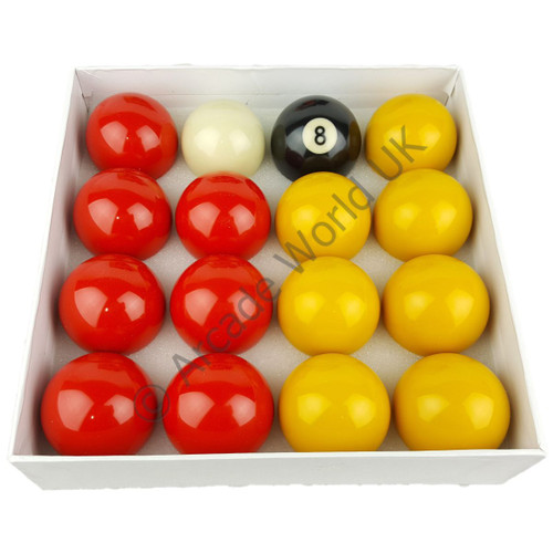 """2"""" Competition Pool Ball Set - Includes Cue Ball"""