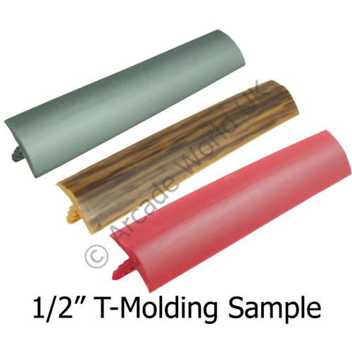 "1 Sample Snip Of 1/2"" T-Molding"