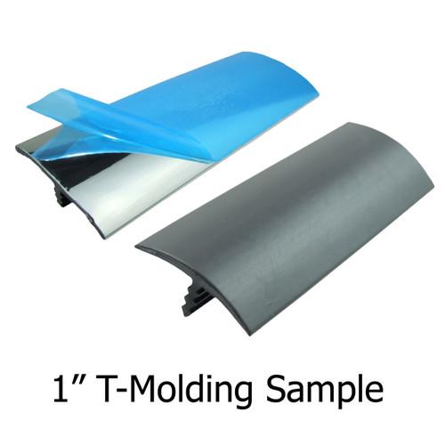 "1 Sample Snip Of 1"" T-Molding"