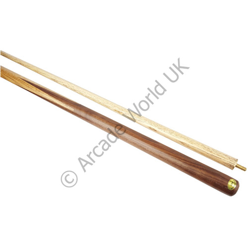 AWUK 57 Inch 2 Piece Ash Pool/Snooker Cue
