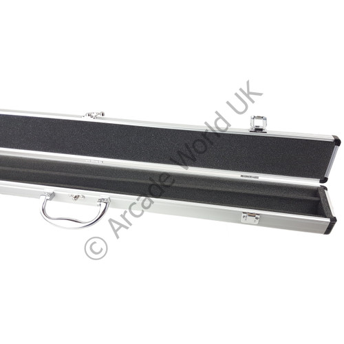 AWUK Chrome Cue Case for 2 Piece Pool/Snooker Cue