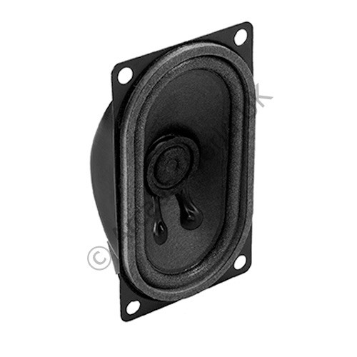 Audio Pro Full Range Oval Speaker - 41 x 71mm - 8Ω 2w