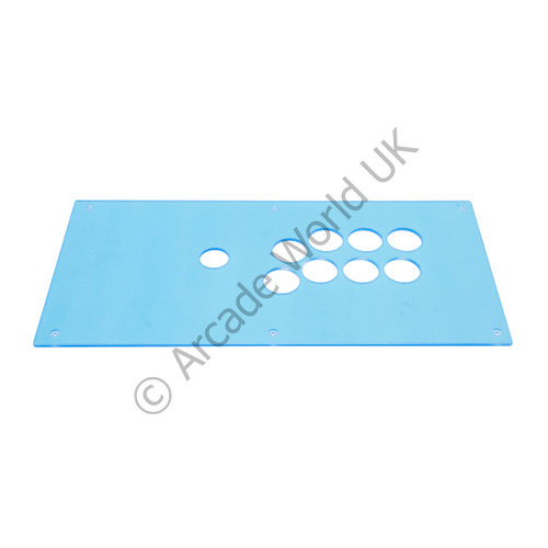 QanBa 8 Button Clear Plexi For Q2 Crystal