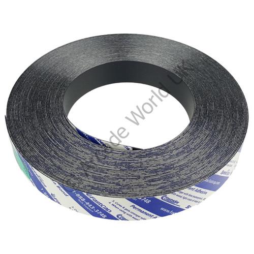 """FastCap Black Peel & Stick Edge Banding - 50ft Roll For 5/8"""" & 1/2"""" Wood"""